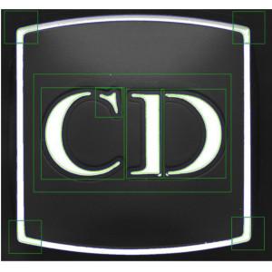 Contrôle logo Christian DIOR