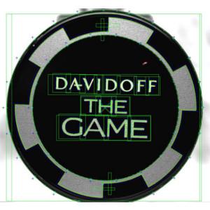 Contrôle logo Davidoff The Game