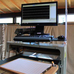 Profilomètre 3D : ergonomie de travail