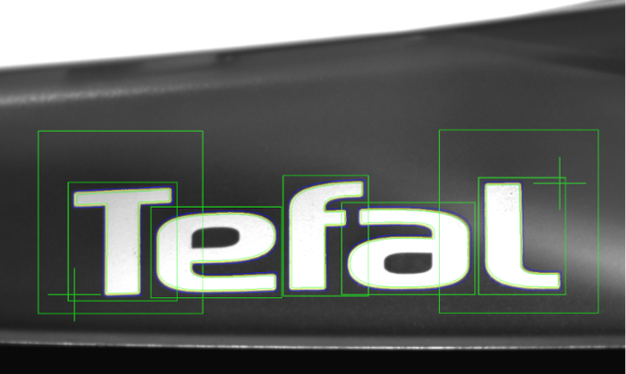 Contrôle logo TEFAL